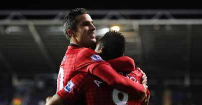 Robin van Persie: Grabbed the winner for Man United