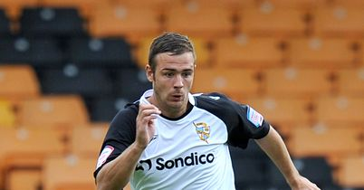 Tom Pope: The Port Vale striker scored his 26th goal of the season