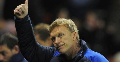 David Moyes: Says he is not under pressure to sell players at Everton