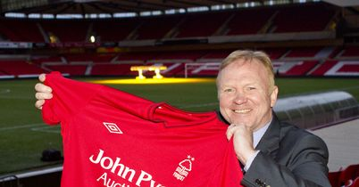 Alex McLeish: Has taken the Nottingham Forest job at the second opportunity