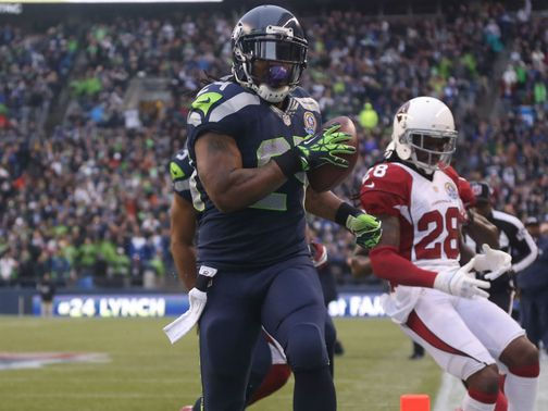 Marshawn Lynch runs riots over the Cardinals