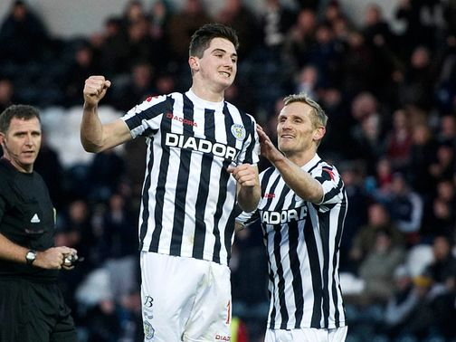 Kenny McLean celebrates his opener