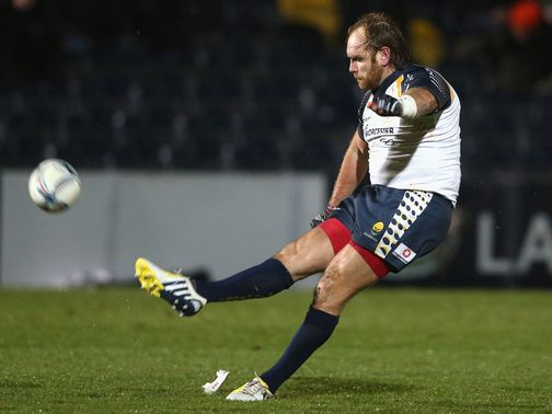 Andy Goode: Two successful kicks for Worcester