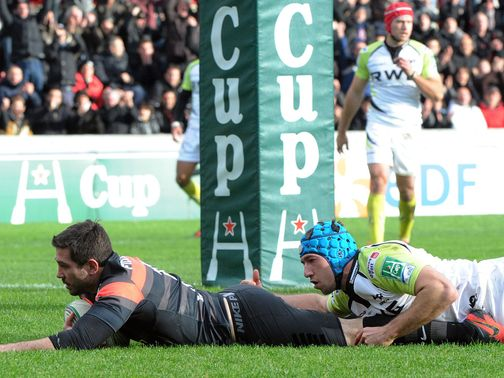 Florian Fritz crosses over for Toulouse