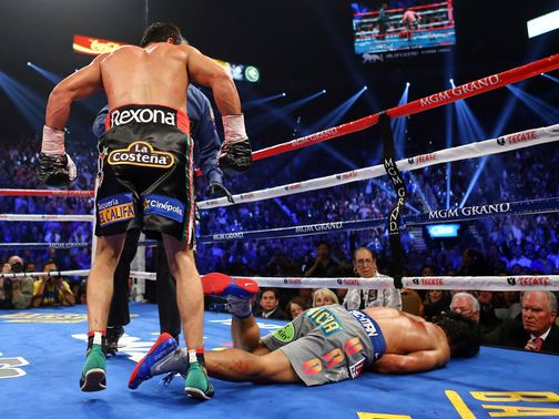 Pacquiao is sent crashing to defeat