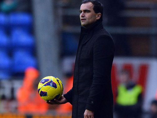 Roberto Martinez: Has offered Joel a trial at Wigan