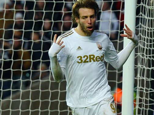 Michu: Battling to be fit for Villa clash
