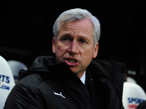 Alan Pardew: Prepares for Arsenal clash