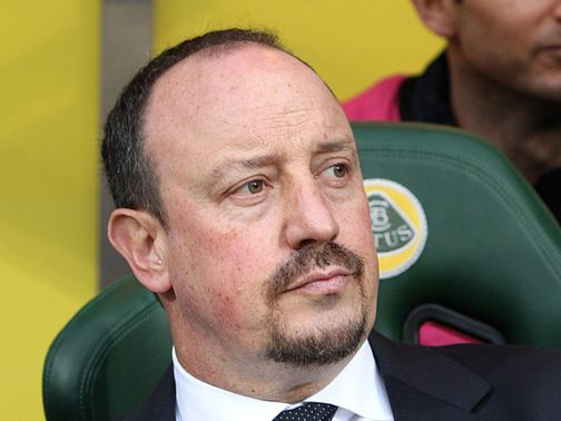 Rafael Benitez: In charge of Chelsea at Everton on Sunday