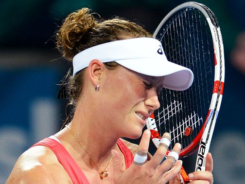 Sam Stosur: Looking for results