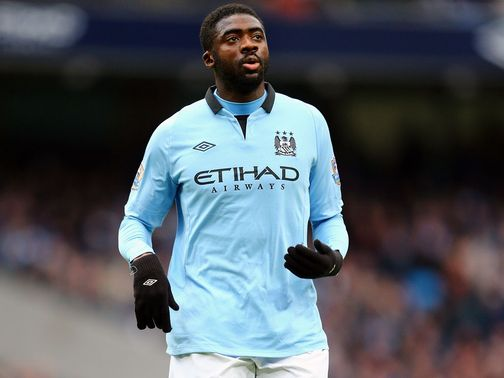 Kolo Toure: Has excelled in the absence of club captain Vincent Kompany