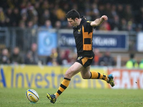 Stephen Jones kicked 14 points for Wasps