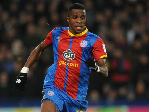 Wilfried Zaha: Willing to move in January in order to play Premier League football