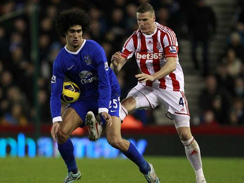 Marouane Fellaini: Criticised by David Moyes
