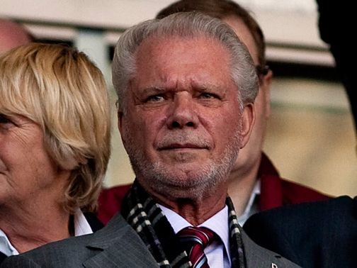David Gold: On the mend after falling ill