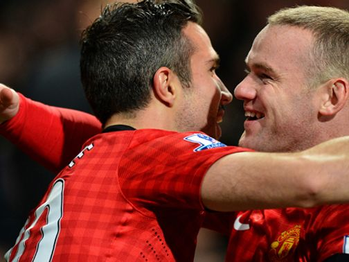 Van Persie and Rooney have steered United to PL summit