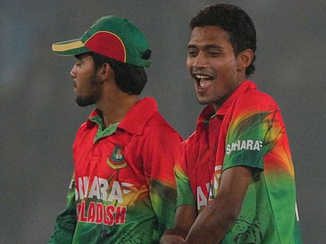 Delight for Bangladesh as they win the series