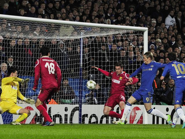 Fernando Torres scored two goals for Chelsea