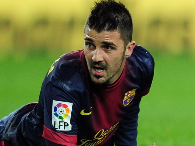 David Villa: Linked with switch to Arsenal