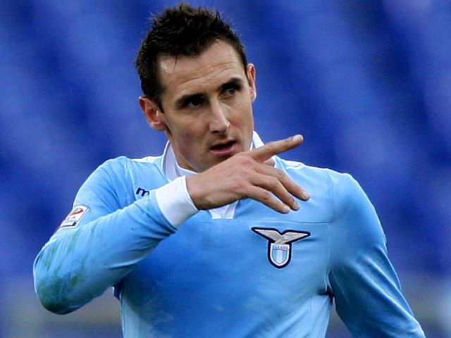 Klose will be absent for the Italians
