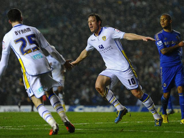 Luciano Becchio scored on his return to the Leeds side
