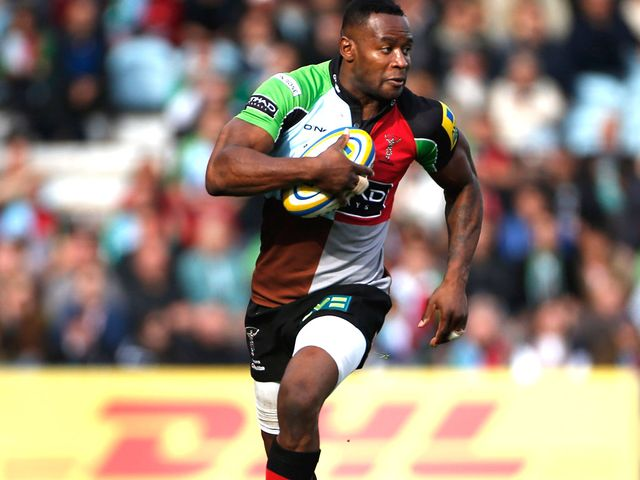 Ugo Monye: The Harlequins winger will make his 200th appearance for the club when they face Connacht this weekend