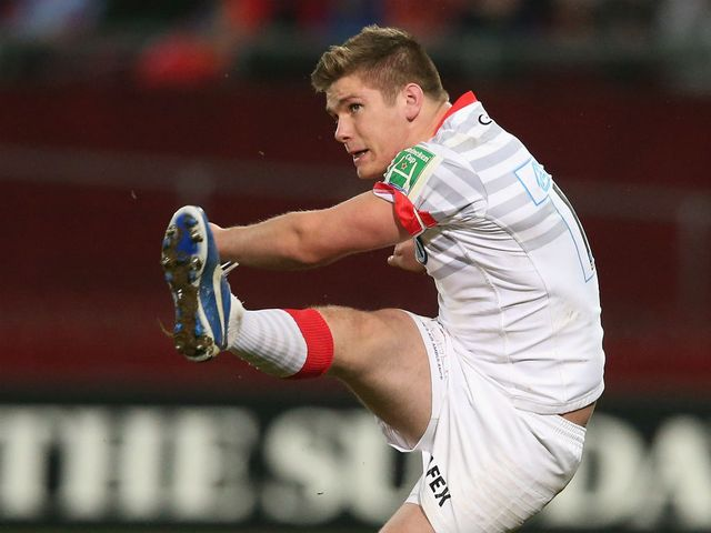 Owen Farrell: Will play at fly-half instead of in the centres