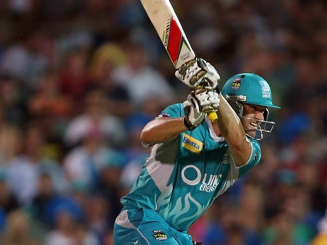 Luke Pomersbach: Quickfire half-century for Brisbane