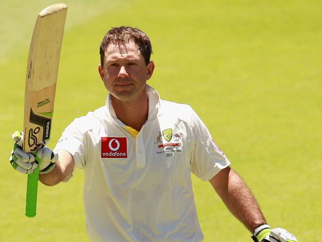 Ricky Ponting: Made just eight in his final Test innings