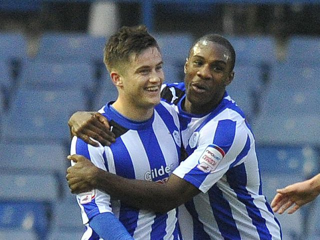 Sheffield Wednesday celebrate