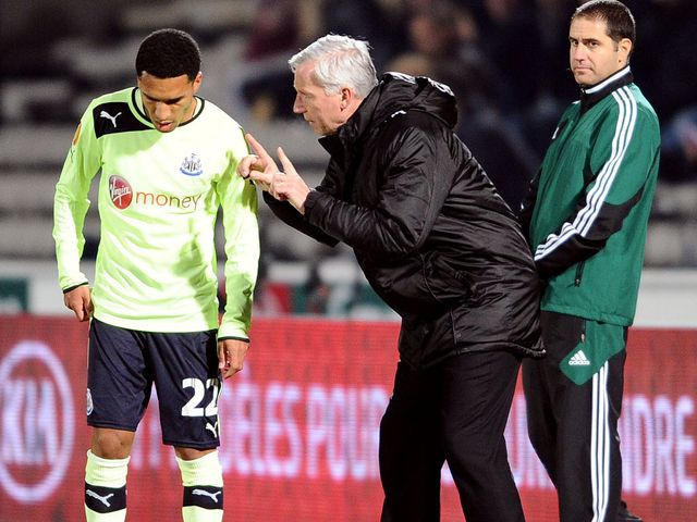 Pardew: Looking to bolster his squad