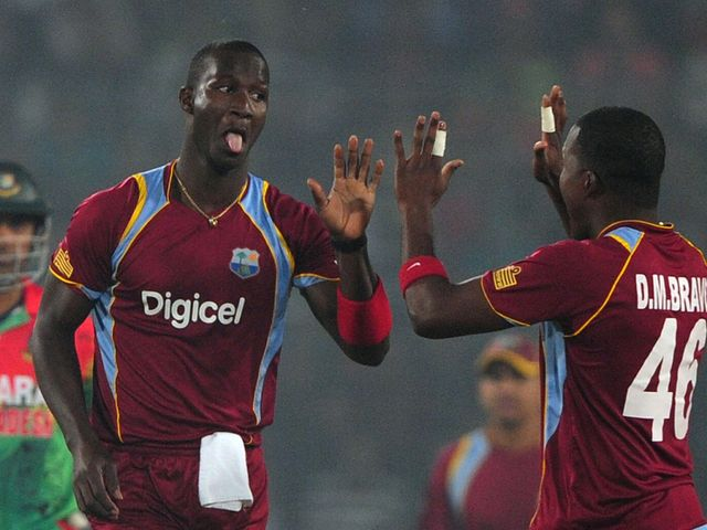 Darren Sammy: Starred with bat and ball