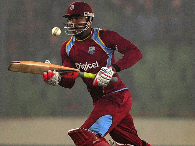 Samuels: Starred with the bat for the West Indies
