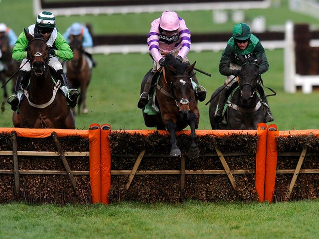 Zarkandar: Tackles the Kingwell Hurdle