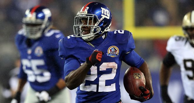 David Wilson: Record explosion for the New York Giants