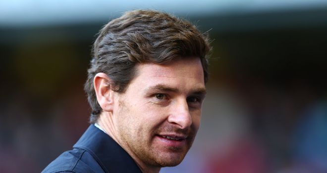Andre Villas-Boas: Could have a fully fit squad available to him for the busy festive period