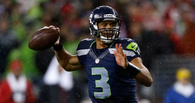 Russell Wilson: Threw four touchdown passes for the Seahawks