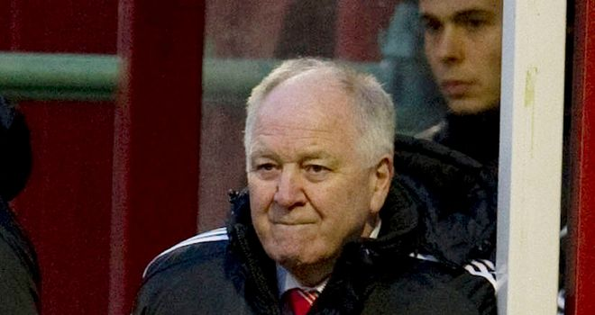 Craig Brown: Aberdeen boss was disappointed by the draw with Hibs