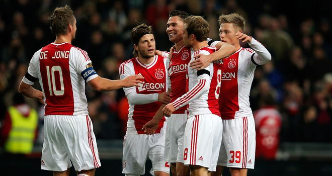 Ajax: Were held by FC Utrecht