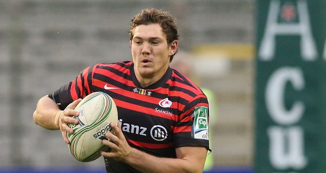 Alex Goode: Fit to start for Saracens against Bath on Sunday