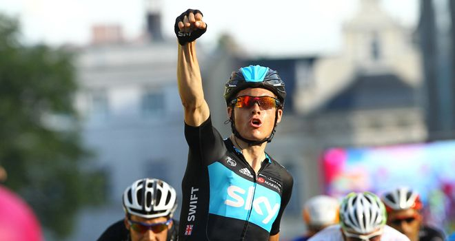 Ben Swift: Believes Yorkshire will split the Tour de France open early