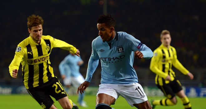 Scott Sinclair: Prepared to be patient and wait for his chance at Manchester City