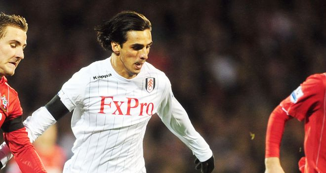 Bryan Ruiz returned on Boxing Day, having recovered from a hamstring injury.