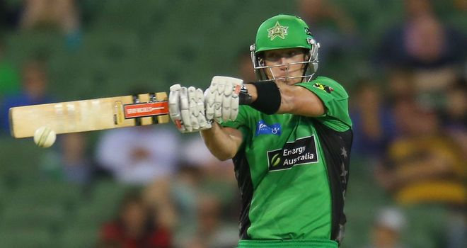 Cameron White: Scored 22 to help Melbourne Stars home