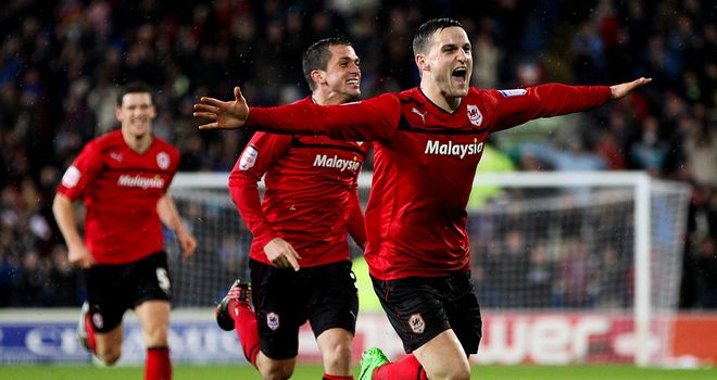 Craig Conway: Hoping to help Cardiff to the Championship title