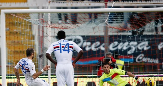 Enzo Maresca had given Sampdoria the early lead
