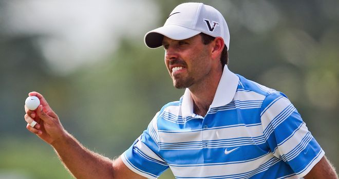 Charl Schwartzel: Remains in command at Amata Spring