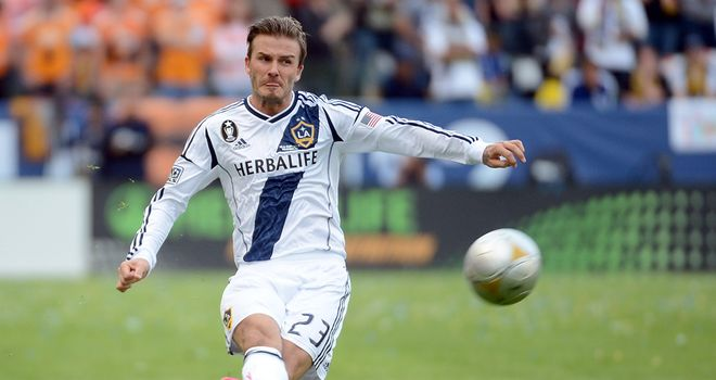 David Beckham likes a kick about and if you do, too, then tune into Get Involved