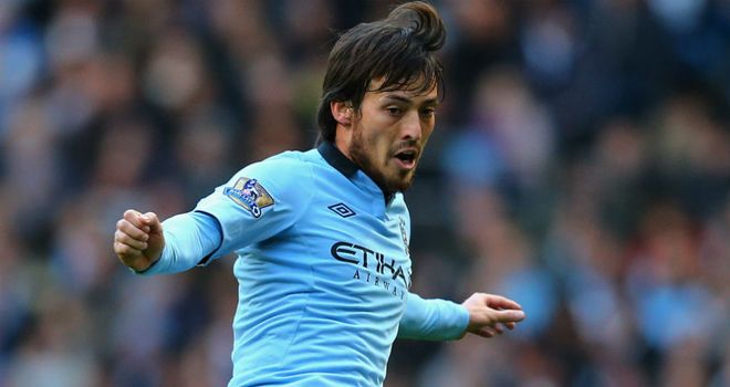 David Silva: Believes City need to be back level with Manchester United by the end of February