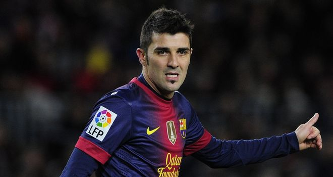 David Villa: Has been linked to England but wouldn't come cheap